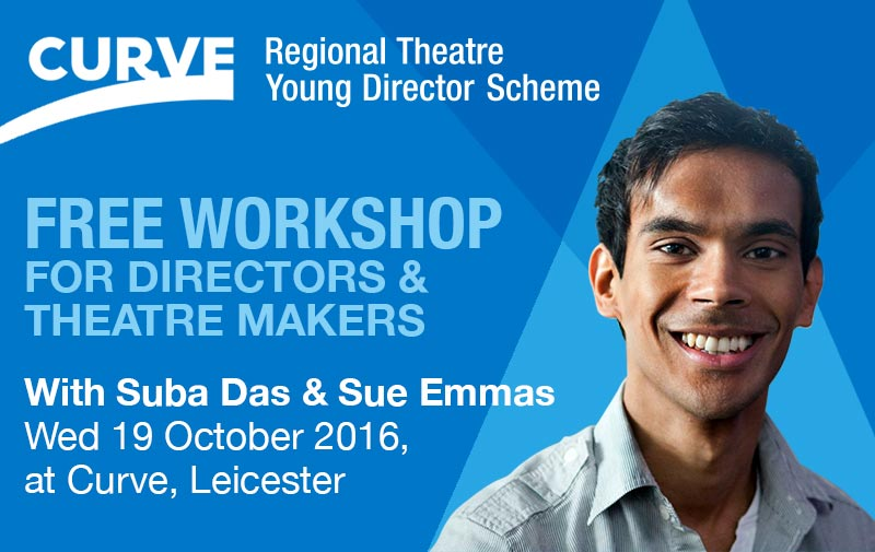 Free workshop for directors and theatres (banner)