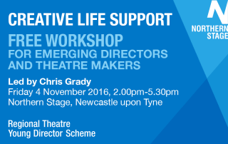 Creative Life Support workshop at Northern Stage (click for details)